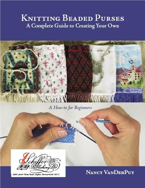 Knitting With Beads Book : Knitting beaded purses an instructions book for
