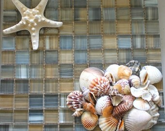 Sea Scape by icyndi creations ~ Sea Shell Sculptures