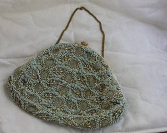 Vintage Jolles Original Purse Beaded Evening Bag 1950's