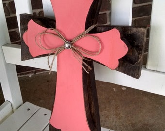 Wall Hanging Stacked Crosses