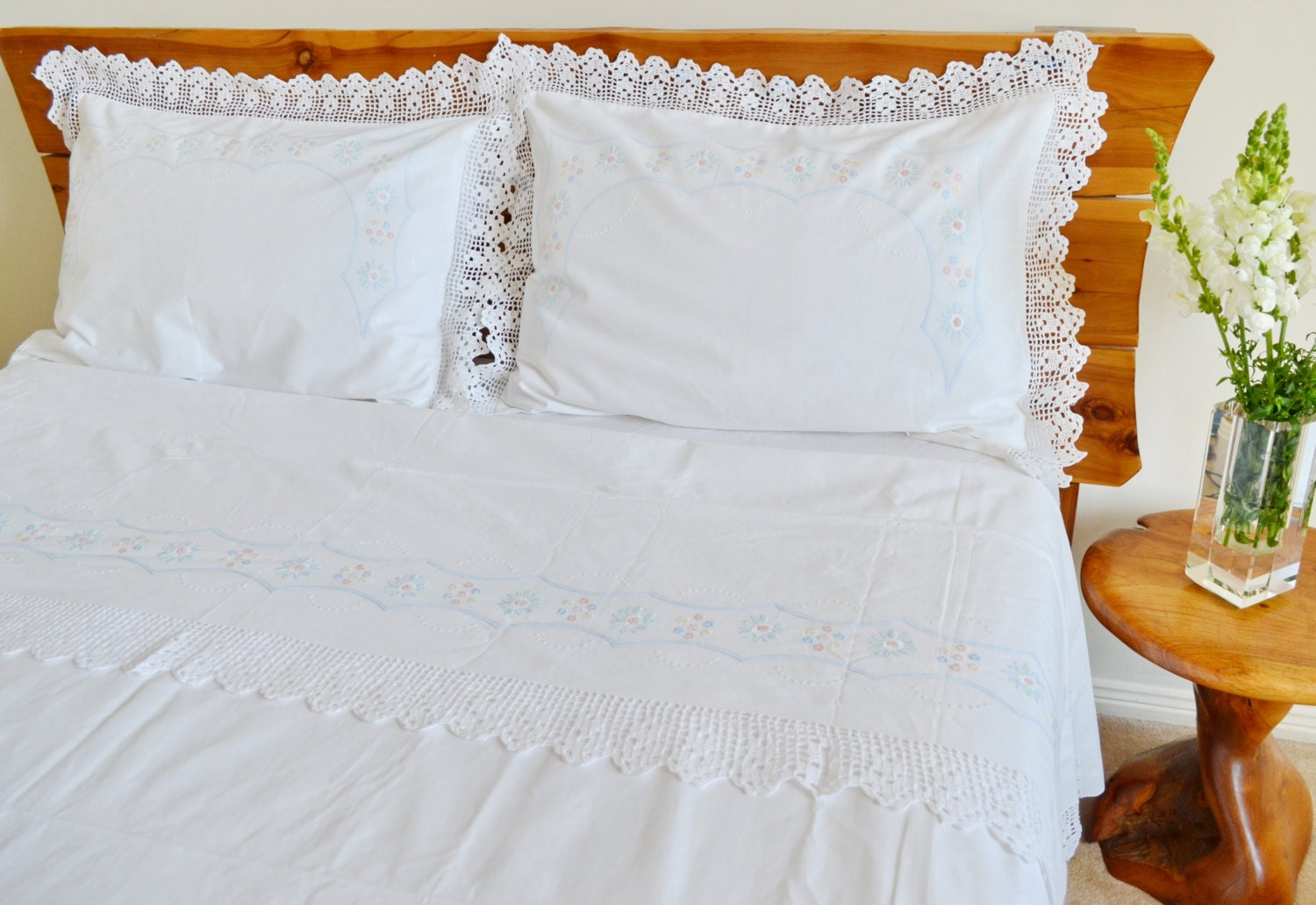 Wedding bed sheet set -  Zoom