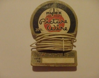 Vintage Nylex Picture Wire sample. New. never used. Australiana.