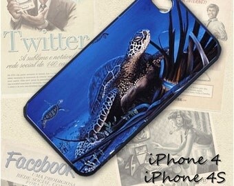Sea Turtle cell phone Case / Cover for iPhone 4, 5, Samsung S3, HTC One X, Blackberry 9900, iPod touch 4 / 245