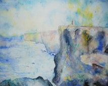 The Orkney Islands, Scotland - Watercolour