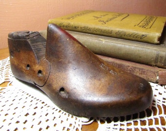 Vintage Child's Wooden Shoe Last
