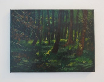 Acrylic painting: 'Forest'