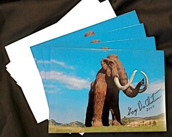 Mammoth Greeting Card Set