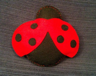Ladybug Tooth Fairy Pillow