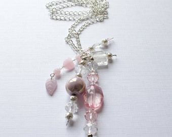 The Baby Pink Necklace - The Mollie Collection