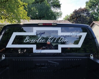Silverado Window Graphics Images Reverse Search - Chevy decals for trucks
