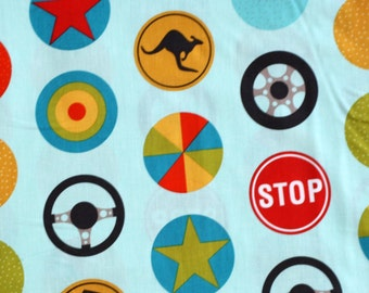 Peak Hour Car Fabric for Riley Blake Fabrics