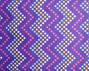 SALE 30% OFF Zig Zag Dot Heaven & Helsinki by Patty Young for Michael Miller