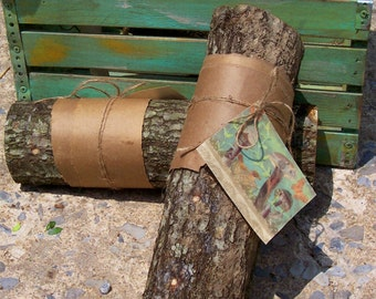 Grow your own gourmet Shiitake mushrooms! These logs are innoculated and ready to begin producing mushrooms. Buy 2! 2nd log ships free.