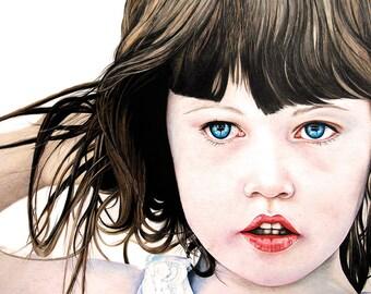 """11"""" x 14"""" custom portrait, portait commission, exclusive artwork"""