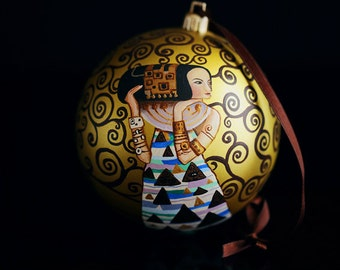 Christmas Ornament  Klimt
