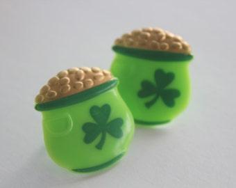 Pot Of Gold Puffy Cupcake Rings