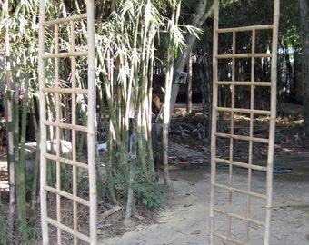 "Bamboo Arbor, 15l x 70""w x 84""h, BNA-72"