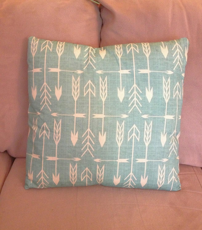 Arrow Throw Pillows decorative pillows home decor turquoise