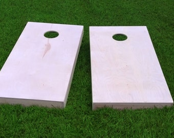 Non-Painted DIY 1x4 Cornhole Board Set With Corn Filled Cornhole Bags | DIY Corn Hole Boards | Corn Toss | Bag Toss |  Same Day Shipping