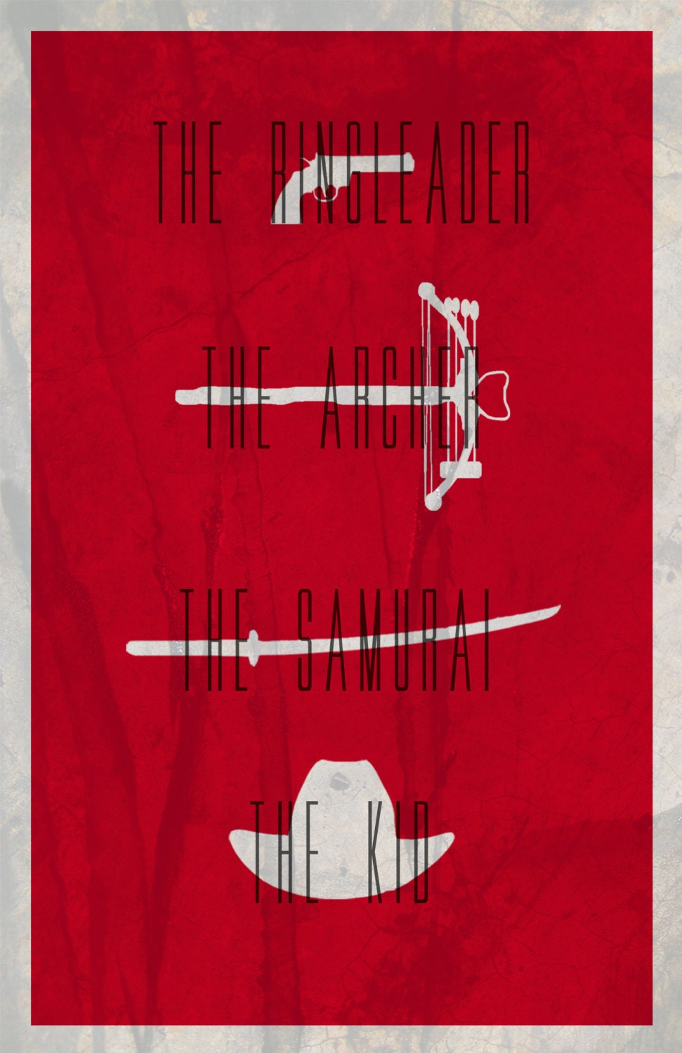 the walking dead minimalist poster by thegreatgrand on etsy. Black Bedroom Furniture Sets. Home Design Ideas