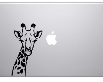 CLOSE OUT SALE Giraffe Macbook Decal