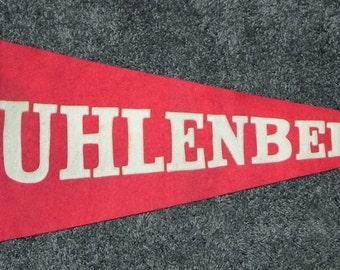 Circa 1910 Muhlenberg College Pennant