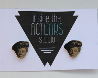 Dowager Countess Downton Abbey Handmade Earrings