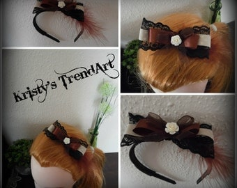 "Headband ""Feather Harmony"""