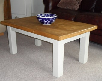 Coffee Table (rustic French-style)
