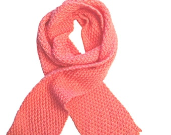 Strawberry Knitted Moss Long Women's Scarf