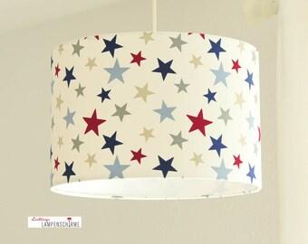 Lampshade stars