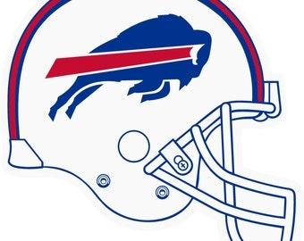 Buffalo Bills Cornhole Decal For Your Boards 1 Set High