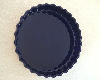 """Great american stoneware factory 9"""" quiche dish"""