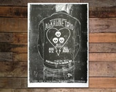 Alkaline Trio Screenprinted Poster