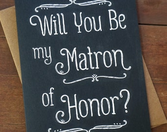 Matron of Honor Card Ask Matron of Honor Gift Matron Honor Sister Matron Card Matron Sister Ideas Sister in Law Card Sister Matron of MOH
