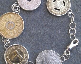 Transmetropolitan Bracelet: Chicago, New York, LA, Boston & Seattle