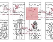 Digital - Villemoart - BOOKMARKS 001 - Printable Coloring Page