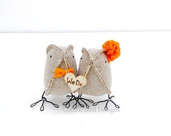 Wedding Cake Topper We Do Burlap Birds Wedding Cake Topper Summer Weddings 2017