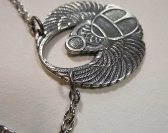 Scarab in Silver