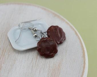 Thin Mints - Girl Scout Cookie Earrings