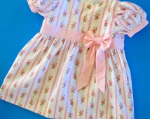 Sewing Patterns for Baby - Classic Baby Dress Pattern with Puff Sleeves - Infant to Toddler