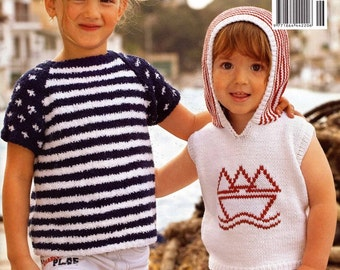 Cool Summer Stitches for Babies and Kids knitting Patterns Trendy Kids wear fashion patterns instruction Booklet Filati Special Edition 6
