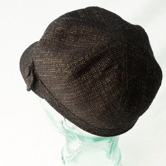 black and gold wool newsboy hat womens hats by