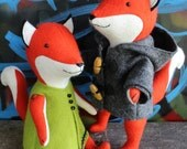 Ginger & Blue: A fox PDF sewing pattern