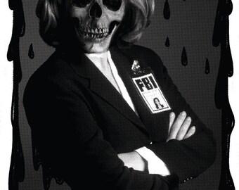 Agent Skully - Medium T-shirt