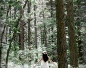 portrait photography woman woodland forest enchanted magical