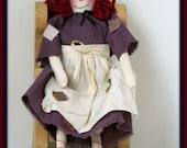 Primitive Annie Handmade Raggedy Ann Doll