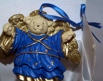 Vintage Muffy Vanderbear Angel Ornament