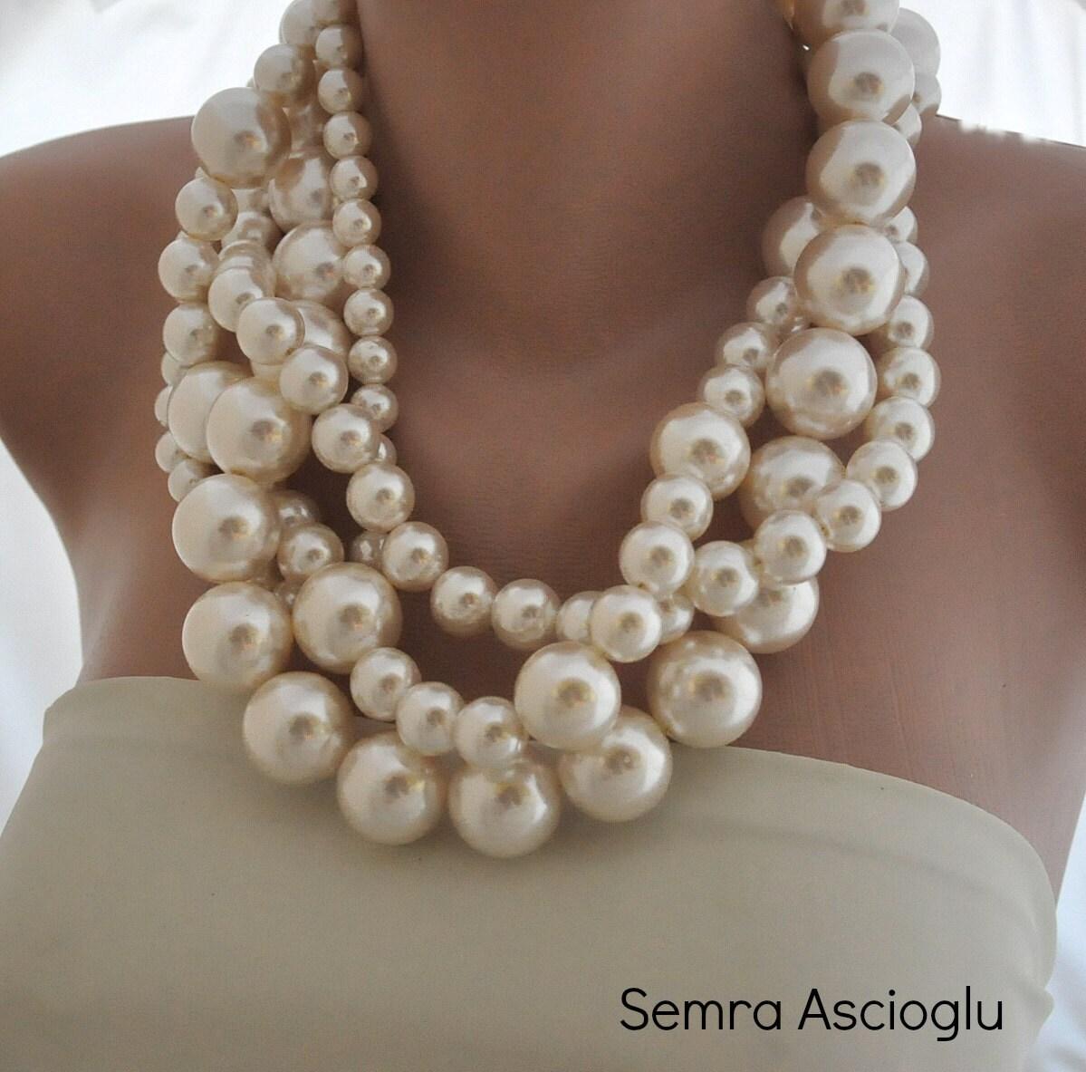 Bold Statement Fashion Jewelry