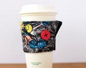 Comic Button Coffee Koozy